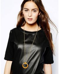 Kenneth Jay Lane - Metallic Elephant Jewelled Necklace - Lyst