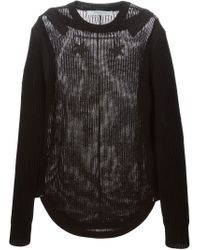 Givenchy - Black Star Patch Jumper for Men - Lyst