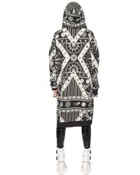 KTZ Black Printed Cotton Jersey Long Sweatshirt for men