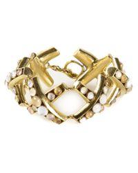 Vaubel | Multicolor Round Stone Bracelet | Lyst