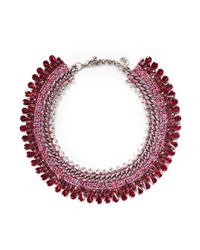 Venessa Arizaga - Purple 'sangria Sunrise' Necklace - Lyst