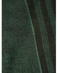 Haider Ackermann | Green Striped Silk-Blend Scarf for Men | Lyst