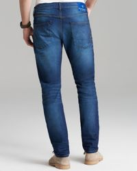 Scotch & Soda Blue Jeans Ralston Slim Straight Fit in Spirit Of Science for men