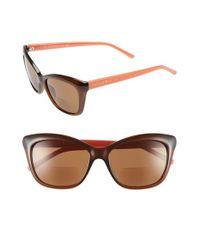 kate spade new york Black 'wendy' 53mm Reading Sunglasses