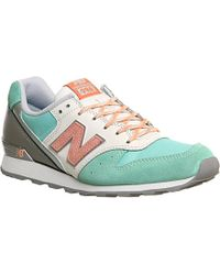 the best attitude c2707 5912c Green 996 Suede And Textile Trainers - For Women