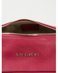 Givenchy Red 'Pandora' Clutch