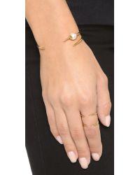 Campbell - Metallic Tri Talon Cuff Bracelet - Lyst