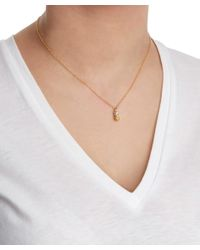 Alex Monroe - Metallic Gold-plated Baby Pineapple Necklace - Lyst