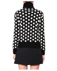 Emanuel Ungaro - Black Cashmere And Wool Pull - Lyst