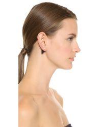 Vita Fede Black Double Titan Cultured Pearl Earrings