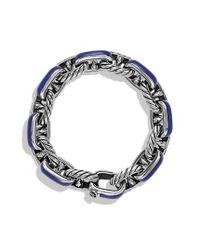 David Yurman | Metallic Maritime Anchor Link Bracelet with Lapis Lazuli for Men | Lyst