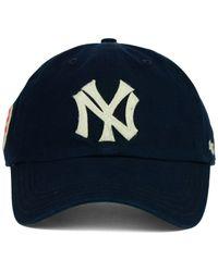 47 Brand Blue New York Yankees Baseball United Clean Up Cap for men