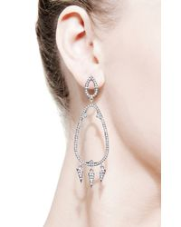 Sylva & Cie | Metallic Gypsy Earrings | Lyst