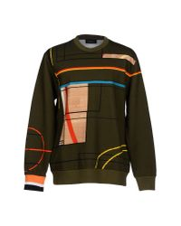 Givenchy Green Sweatshirt for men