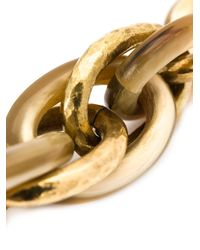 Ashley Pittman   Metallic Large Anchor Chain   Lyst