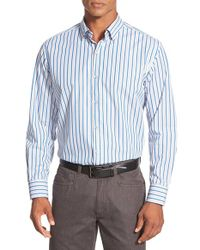 Tommy Bahama - Blue 'chairman Of The Surf' Stripe Sport Shirt for Men - Lyst