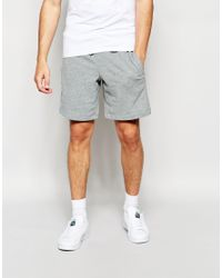 Puma Athletic Sweat Shorts in Gray for Men | Lyst