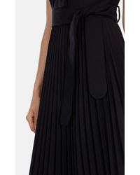 Karen Millen | Black Belted Trench Dress | Lyst