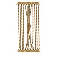 Lanvin - Metallic Knotted Chain Bracelet - Lyst