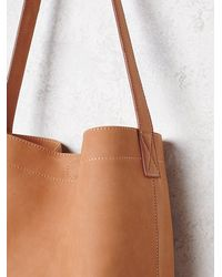 Free People | Brown Gracie Roberts Womens Big Sky Bucket | Lyst