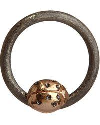 Annoushka - Brown Hoopla Ladybird 18ct White-gold Pendant - Lyst