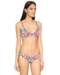 Red Carter   Multicolor Shangri La Bralette Bikini Top   Lyst