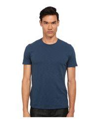 VINCE | Blue Short Sleeve Crew Neck Tee for Men | Lyst