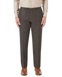 Skopes Brown James Suit Trouser for men