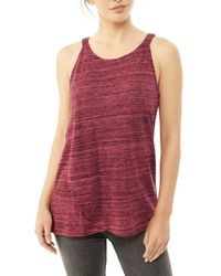 Alternative Apparel | Red Traipse Eco-space Dye Jersey Tank Top | Lyst