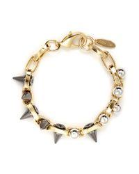 Joomi Lim | Metallic Spike Bead Chain Bracelet | Lyst