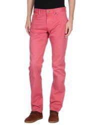 Polo Ralph Lauren Pink Casual Trouser for men
