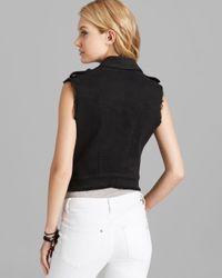 James Jeans Vest Vega in Black Solid