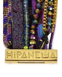 Hipanema - Purple Embellished Cuff - Lyst