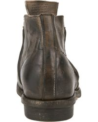 Shoto - Gray Doublezip Chelsea Boots for Men - Lyst