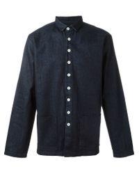 Sunnei Black Denim Pocket Shirt for men