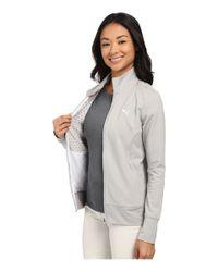 PUMA Gray Pwrwarm Golf Jacket