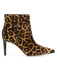 Sam Edelman | Multicolor Karen Calf-hair Ankle Bootie | Lyst