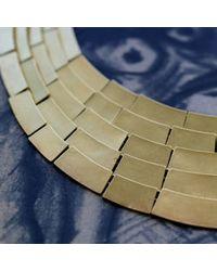 Kelly Wearstler | Metallic Malak 5 Row Necklace | Lyst