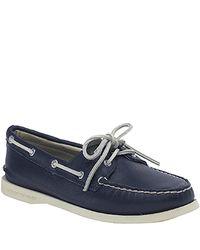 Sperry Top-Sider - Blue Original 2 Eye - Navy Deerskin Boat Shoe - Lyst