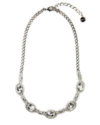 Givenchy - Metallic Sharks Tooth Necklace - Lyst