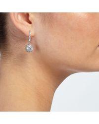 John Lewis | Metallic Round Stone Drop Earrings | Lyst