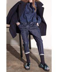 N°21 - Blue Tea Jumpsuit - Lyst