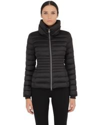 Colmar | Black Quilted Nylon Down Jacket | Lyst