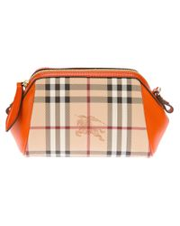 Burberry Orange Mini Blaze Cross Body Bag