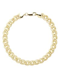 Lord & Taylor | Metallic 14kt. Yellow Gold Infinity Twist Bracelet | Lyst