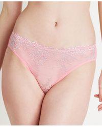 Wacoal | Multicolor Embrace Lace Bikini 64391 | Lyst