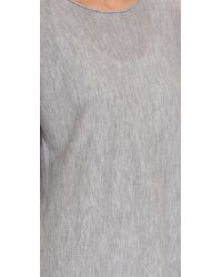 Tess Giberson - Gray Cashmere Slouchy Sweater - Lyst