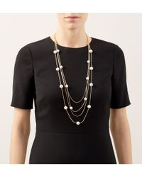 Hobbs | Metallic Nadine Necklace | Lyst