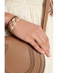 Isabel Marant - Black Set Of Two Shell Bracelets - Lyst