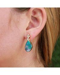 Katherine Jetter | Yellow Boulder Opal Earrings | Lyst